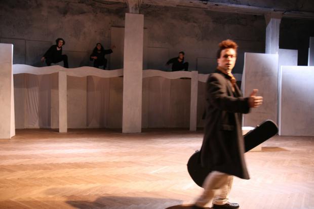 Bühnenmacher Der Schuhu und die fliegende Prinzessin Concordia Bremen
