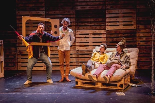 Bühnenmacher Die Känguru-Chroniken Stadttheater Fürth